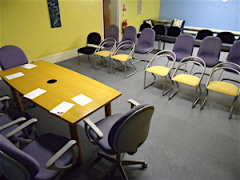 Downstairs Meeting Room at Morton Hall, Macclesfield