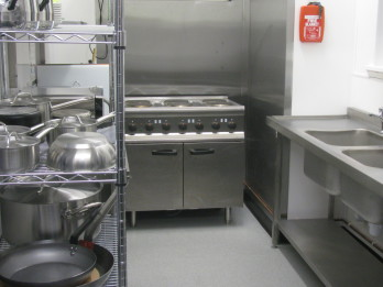 Kitchen at Morton Hall Community Centre